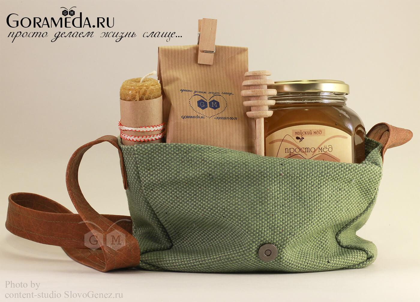 оригинальный корпоративный подарок с мёдом на заказ от gorameda.ru