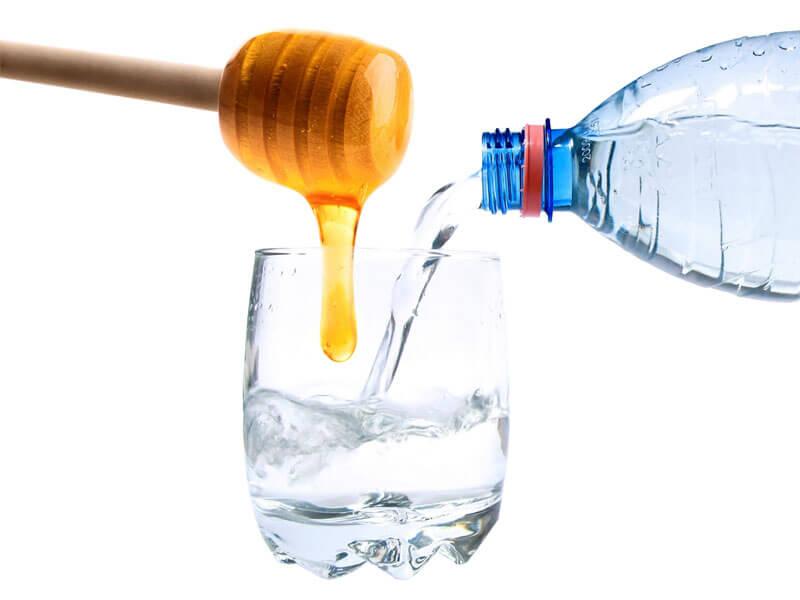 как смешивать мёд с водой